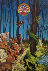 Verso de La créature des marais -1- La Créature des marais 1