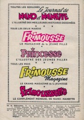 Verso de Frimousse et Frimousse-Capucine -175- Tornade sur la jungle