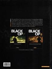 Verso de Black Op -8- Tome 8