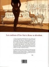 Verso de Une nuit à Rome -HS- Les dessous de Une nuit à Rome - Illustrations et entretien avec Jim