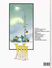 Verso de XIII -7a1996- La nuit du 3 août