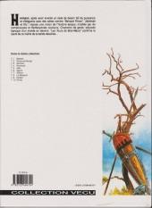Verso de Les tours de Bois-Maury -1d- Babette