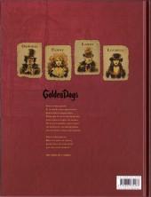 Verso de Golden Dogs -3- Le juge Aaron