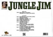 Verso de Jungle Jim (Jim la jungle) -1940- 1940 - Peter Stone, l'usurpateur - Sabotage sur le canal (1ère partie)