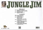 Verso de Jungle Jim (Jim la jungle) -1942- 1942 - Destination Panama - Guérilla en Extrême-Orient