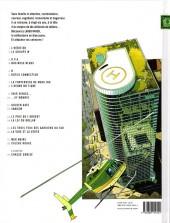 Verso de Largo Winch -1GF- L'héritier