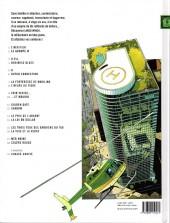 Verso de Largo Winch -2GF- Le groupe W
