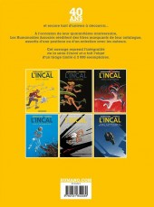 Verso de L'incal - Une aventure de John Difool -INTg- Intégrale