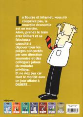Verso de Dilbert (Albin Michel) -8- Honni soit qui stock-option