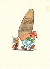 Verso de Astérix -11- Le bouclier Arverne