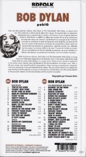 Verso de BD Folk - Bob Dylan