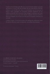 Verso de Courtney Crumrin -1b- Les Choses de la Nuit