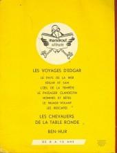 Verso de (AUT) Joubert - Les Voyages d'Edgar - Le Pays de la mer