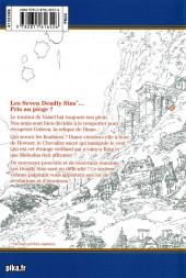 Verso de Seven Deadly Sins -6- Tome 6