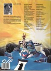 Verso de Michel Vaillant -41a1988- Paris-Dakar !