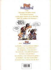 Verso de Pot pour rire! -0- Spécial Joe Bar Team