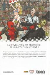 Verso de Deadpool (Marvel Now!) -1- Deadpool Président !