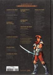 Verso de Lanfeust et les mondes de Troy - La collection (Hachette) -5- Lanfeust de Troy - Le Frisson de l'Haruspice