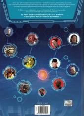 Verso de PSG Heroes -1- Menace capitale