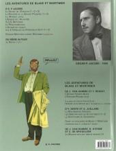 Verso de Blake et Mortimer (Les Aventures de) -7c2008- L'Enigme de l'Atlantide