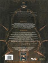 Verso de La caste des Méta-Barons -J2- L'Univers