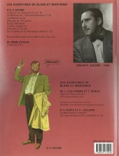 Verso de Blake et Mortimer (Les Aventures de) -10c2005- L'affaire du collier