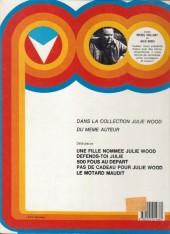 Verso de Michel Vaillant -33a1991- La silhouette en colère