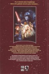 Verso de La guerre des étoiles (d'après le script original) - La Guerre des étoiles