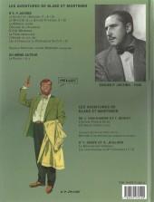 Verso de Blake et Mortimer (Les Aventures de) -6c2005- La Marque Jaune