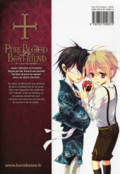 Verso de Pure Blood Boyfriend - He's my only vampire -5- Tome 5