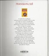 Verso de (AUT) Franquin -1b- Franquin / Jijé