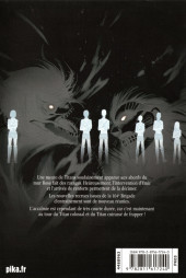 Verso de L'attaque des Titans -11- Tome 11