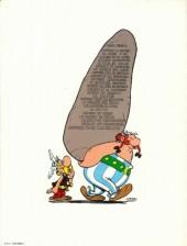 Verso de Astérix -21b1984- Le cadeau de césar