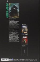 Verso de Green Arrow (DC Renaissance) -2- La Guerre des outsiders