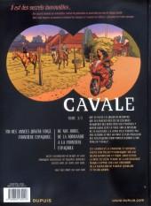 Verso de Secrets - Cavale -3- Tome 3/3