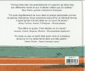 Verso de Illustré (Le Petit) (La Sirène / Soleil Productions / Elcy) - Le Tennis illustré de A à Z