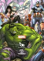 Verso de (AUT) Brooks - Groundworks: The Marvel Art of Mark Brooks