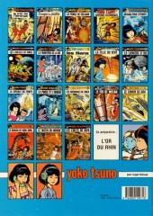 Verso de Yoko Tsuno -13a91- Les archanges de Vinéa