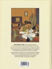 Verso de La marque Jacobs -a- La Marque Jacobs, une vie en bande dessinée