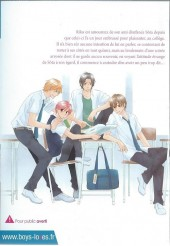 Verso de Switch of First Love (The) - The Switch of First Love