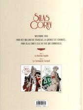 Verso de Silas Corey -3- Le Testament Zarkoff 1/2