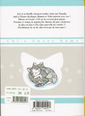 Verso de Chi - Une vie de chat (format manga) -11- Tome 11