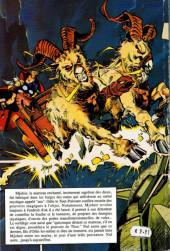 Verso de Privilège Semic (Collection par souscription) -6- Thor - La ballade de Beta Ray Bill