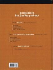 Verso de Complainte des Landes perdues -8TL- Sill Valt