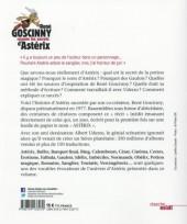 Verso de (AUT) Goscinny -20- René Goscinny raconte les secrets d'Astérix