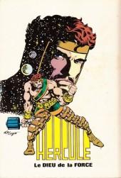 Verso de Un récit complet Marvel -2- Hercule - Hercule l'Olympien