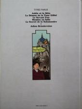 Verso de Adèle Blanc-Sec (Les Aventures Extraordinaires d') -4a81- Momies en folie