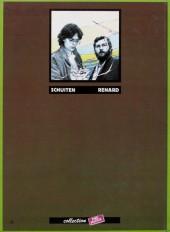 Verso de Métamorphoses (Schuiten/Renard) -1a1981- Aux médianes de Cymbiola