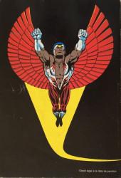 Verso de Un récit complet Marvel -6- Le Faucon