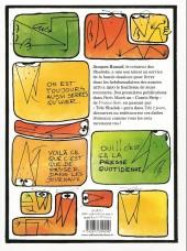 Verso de Les shadoks -10- Les shadoks comics